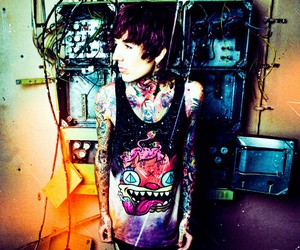 drop dead, oliver sykes, and boy image