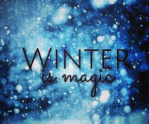 christmas, magic, and snow image
