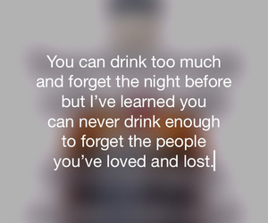 alcohol, forget, and L image