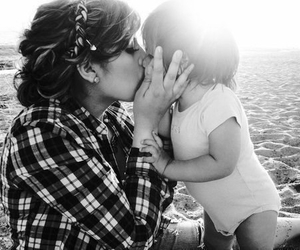 kiss, cute, and baby image