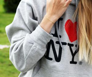 girl, new york, and ny image