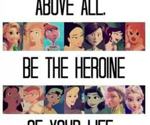 disney and heroine image