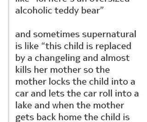 child, dean winchester, and funny image