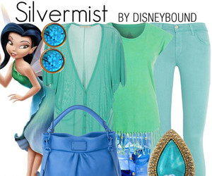 disney, tinkerbell, and silvermist image