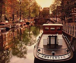 amsterdam, boat, and photography image