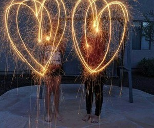 love, heart, and light image