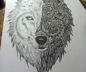 animal, pencil, and art image