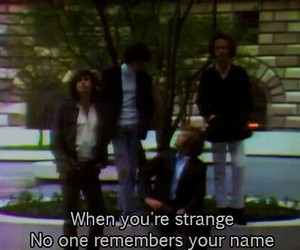 grunge, the doors, and quotes image