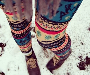 fashion, leggings, and style image