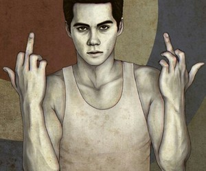 dylan o'brien, art, and stiles image
