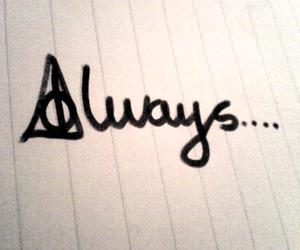 always, forever, and harry potter image