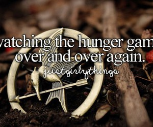the hunger games, hunger games, and movie image