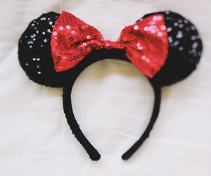 disney, bow, and glitter image