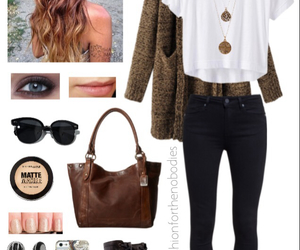 outfit, fall, and style image