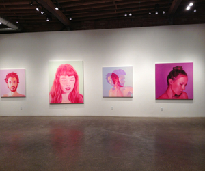 art, pink, and gallery image