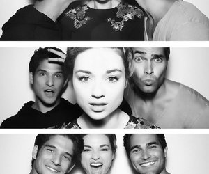 tyler posey, crystal reed, and teen wolf image