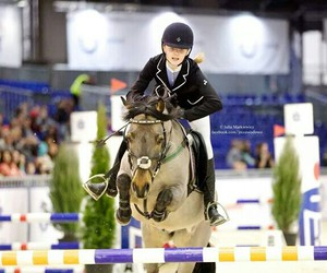 equestrian, horses, and jumping image