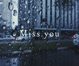 loneliness, lonely, and miss you image