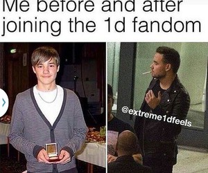 one direction, liam payne, and funny image