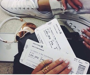 travel, airport, and converse image