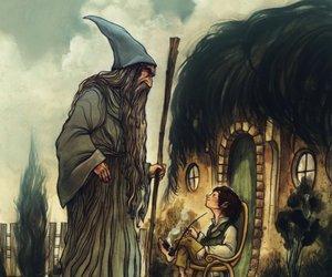 gandalf, the hobbit, and hobbit image