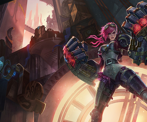 VI and leagueoflegends image