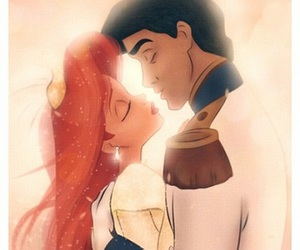 ariel, disney, and prince image