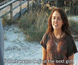 miley cyrus, the last song, and quote image