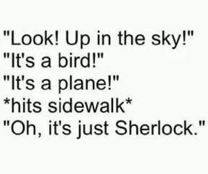 sherlock and funny image