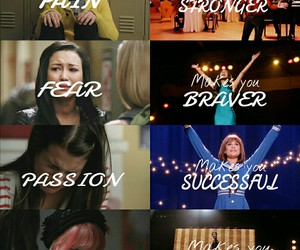 glee, fear, and pain image