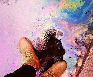 boots, colorful, and photography image