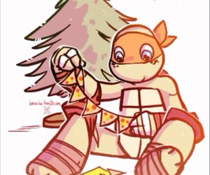 christmas, mikey, and orange image