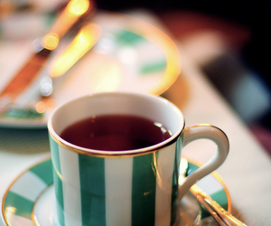 tea, cup, and drink image