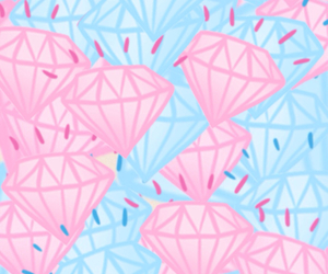 diamond, background, and blue image