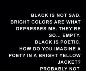 black, quotes, and poetic image