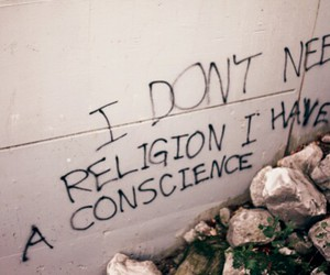 religion, conscience, and quote image