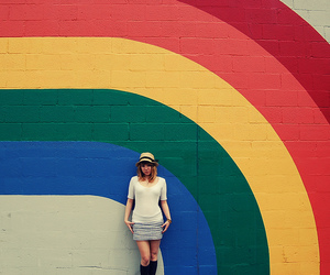 colors, girl, and cari image