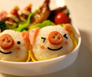 food, piggy, and pig image