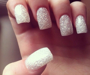 nails, amazing, and glitter image