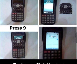 cheat, finals, and funny image