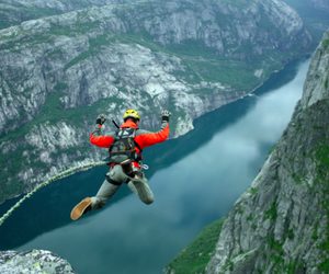 extreme, bucket list, and bungee jumping image