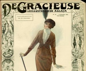 fashion illustration, edwardian, and fashion history image