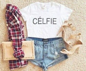 fashion, outfit, and célfie image