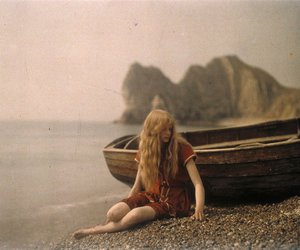 boat, vintage, and beach image