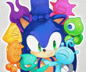 Sonic the hedgehog, sonic colors, and sonic image