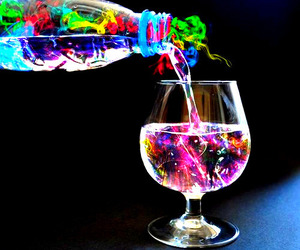 drink, colors, and cool image