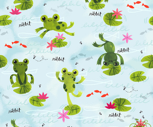 background, cute, and pattern image