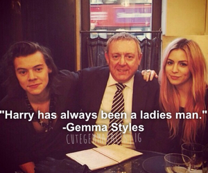 gemma, styles, and harrystyles image