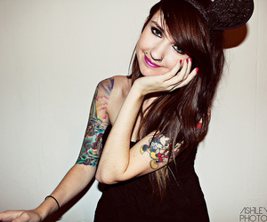 50mm, Tattoos, and flash image