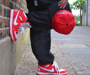 nike and red image